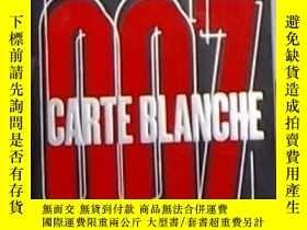 二手書博民逛書店英文原版罕見Carte Blanche by Jeffery D