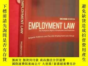 二手書博民逛書店Employment罕見Law: The Workplace R
