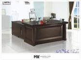 【MK億騰傢俱】ES609-06愛爾蘭5.8尺主管桌 辦公桌(不含側櫃、活動櫃)