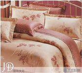 5*6.2 薄被單床包組/純棉/MIT台灣製 ||點綴春色|| 粉膚色