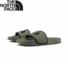 【The North Face 男 拖鞋《綠》】4T2R/休閒拖鞋/輕便拖鞋/沙灘拖鞋