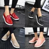韓國時尚雨鞋女成人雨靴男防水鞋短筒膠鞋低筒防滑工作鞋  萬客居