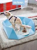 狗狗廁所小型犬泰迪比熊狗便盆狗尿盆屎盆大號金毛中大型犬狗用品免運 青山市集