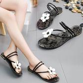 二穿人字拖女2018夏季新款外穿拖鞋平底涼拖鞋時尚海邊沙灘鞋女鞋