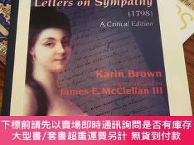 二手書博民逛書店Letters罕見on Sympathy (1798): A Critical EditionY94537 S