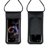 手機防水袋潛水套觸屏游泳漂流蘋果X華為小米外賣專用手機防水套  魔法鞋櫃
