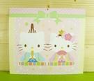 【震撼精品百貨】Hello Kitty 凱蒂貓~雙面卡片-女兒節