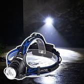 頭燈 戶外LED燈 LED頭燈 夾燈 應急燈 調焦釣魚燈 充電式 變焦充電頭燈【P539】生活家精品