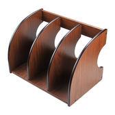 辦公書立架 木質文件架 創意文件收納架桌面雜志架簡約資料架書架 迎中秋全館88折