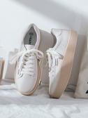 小白鞋女百搭休閑春季新款厚底增高板鞋春款女鞋潮鞋