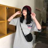 韓國女裝 英文印花短袖T恤 3色售【C0611】韓妞必備  阿華有事嗎