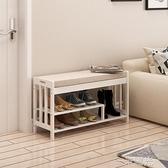 門口換鞋凳歐式儲物長凳服裝店沙發凳多 收納床尾凳試衣間凳子WD 一米陽光