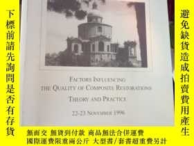 二手書博民逛書店FACTORS罕見INFLUENCING THE QUALITY