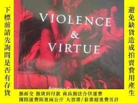 二手書博民逛書店Violence罕見and Virtue: Artemisia