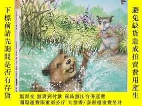 二手書博民逛書店The罕見Swimming Lesson (Cork and Fuzz)(精裝原版外文書)Y18233 Dor