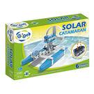 智高GIGO  太陽能雙體船 科技積木-...