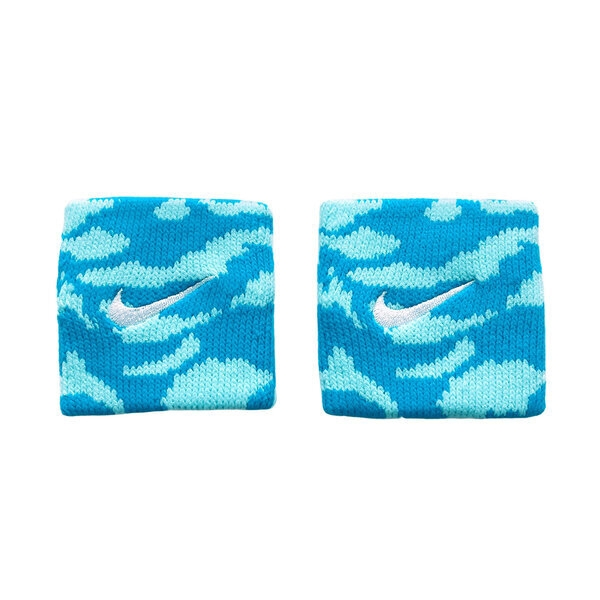 Nike Dri-fit [NNNF1449OS] 腕帶 迷彩 運動 籃球 訓練 吸汗 快乾 乾爽 舒適 水藍