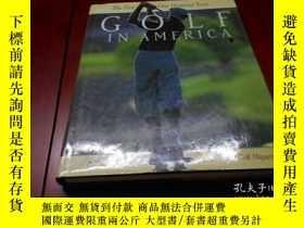 二手書博民逛書店GOLF罕見IN AMERICA (THE FIRST ONE
