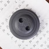 天輔學生實用圓形硯台帶蓋歙硯初學者端硯書法墨盒4寸文房四寶『新佰數位屋』