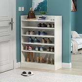 鞋架 家用鞋架門口大容量玄關柜經濟型木質收納多層進門入戶鞋柜臥室【快速出貨】