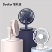 USB小風扇 倍斯特usb小電風扇可充電桌面台式手持便攜式小型寢室床上大風力電扇 9號潮人館