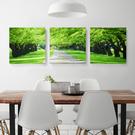 美式鄉村裝飾畫客廳沙發背景牆畫1聯畫臥室壁畫田園餐廳掛畫玄關1套-1102