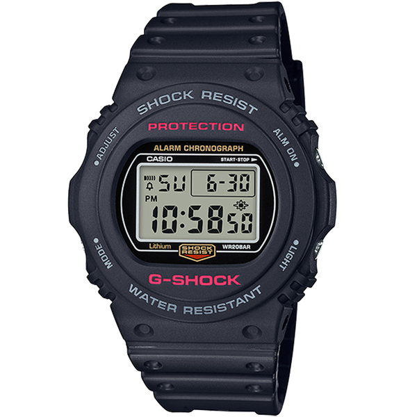 CASIO卡西歐G-SHOCK復刻經典運動錶 DW-5750E-1DR