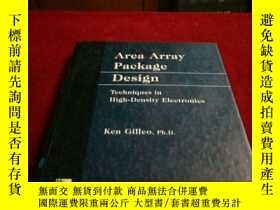 二手書博民逛書店Area罕見Array Package DesignY10275