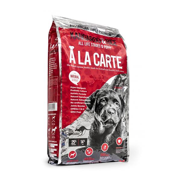 寵物家族-澳洲A LA CARTE阿拉卡特 - 低脂全齡犬 袋鼠肉低敏配方18KG