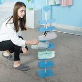 (成人款) 六層卡通動物立體兒童鞋靴架 創意客廳鞋靴架 落地式鞋靴子架WY【全館免運】