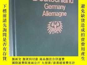 二手書博民逛書店德文原版罕見皮面大精裝 Deutschland Germany Allemagne by Theodor Mull