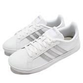 adidas 休閒鞋 Courtpoint 白 銀 愛迪達 小白鞋 女鞋 基本款【ACS】 FY8407