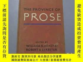 二手書博民逛書店英文原版:The罕見Province Of ProseY3597