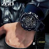 電子錶男運動男生高中學生初中青少年戶外 ~黑色地帶