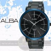 ALBA 雅柏超人氣對錶系列紳士簡約時尚腕錶VJ21-X118B/AH8483X1公司貨