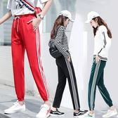 運動褲女韓式休閒新品新款原宿bf寬鬆顯瘦學生秋季ulzzang百搭冬 最後一天85折