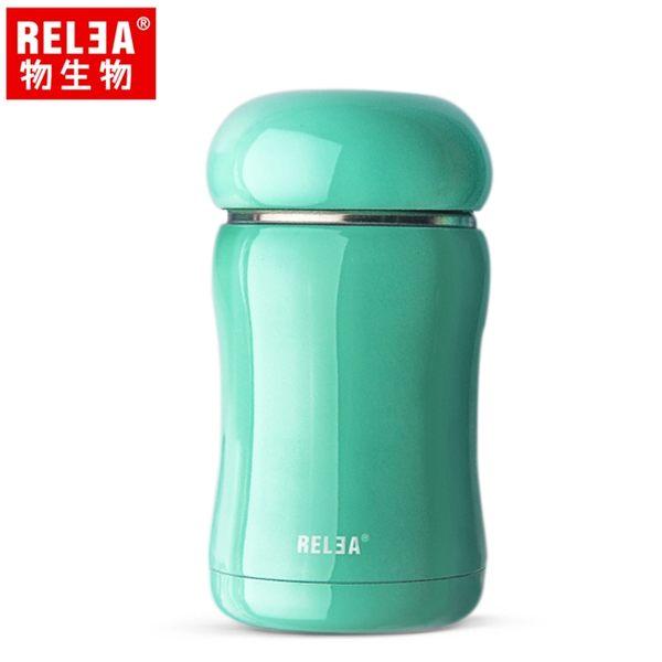【香港RELEA物生物】210ml 嘟嘟真空保溫杯 (薄荷綠)
