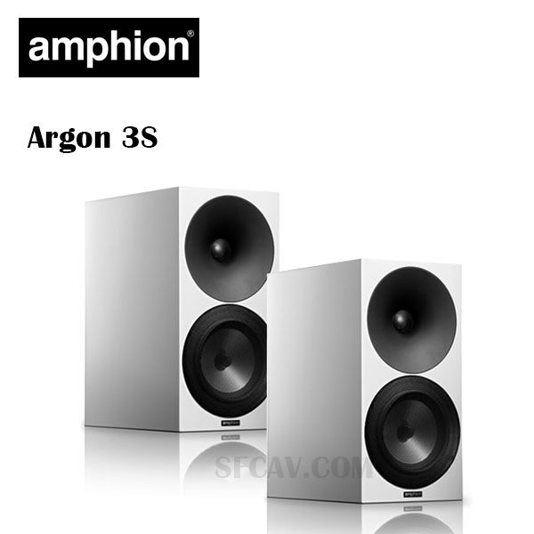 【勝豐群音響新竹】amphion Argon 3S  書架型喇叭 U/D/D(Uniformly Directive Diffusion)技術