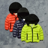 高質感 拚色連帽柔軟鋪棉外套 橘魔法Baby magic 現貨 童裝  兒童  童裝 男女童