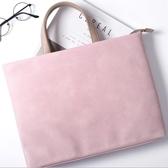 筆電包蘋果小米華碩13筆記本電腦15.6寸手提包12公文14清新女皮可愛時尚