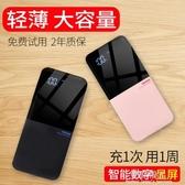 行動電源-行動電源20000M超薄大容量迷你小蘋果專用行動電源便攜式手機快充閃充 完美