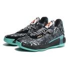 ADIDAS 籃球鞋 DAME 7 FLORAL 灰黑藍 花卉 滿版 塗鴉 男 (布魯克林) FX7446