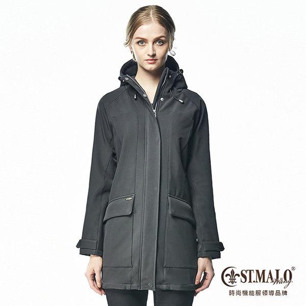 【ST.MALO】德國3防精算比例大衣-1673WJ-碳黑色