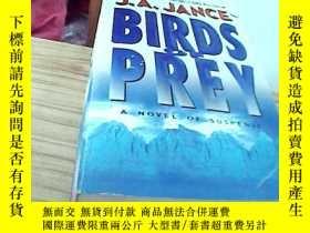 二手書博民逛書店英文原版Birds罕見of prey--a novel of s