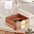 鑰匙收納盒門口玄關放鑰匙收納盤桌面擺件托盤皮質收納盒【創世紀生活館】