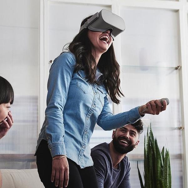 VR眼鏡 VR一體機 Oculus Go虛擬現實眼鏡設備rift 蘋果安卓  DF