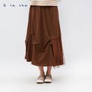a la sha 點點網紗拼接造型裙