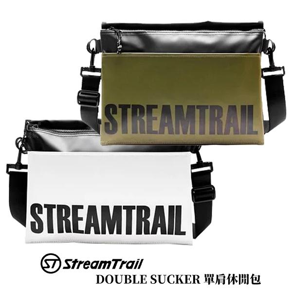 【日本 Stream Trail】DOUBLE SUCKER 單肩休閒包 肩背包 側背包 斜背包 背包