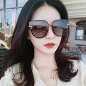 新款墨鏡女圓臉大框韓版潮偏光太陽眼鏡ins防紫外線眼睛網紅街拍