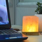 水晶鹽燈夜燈釋放負離子臺燈遙控【奇趣小屋】